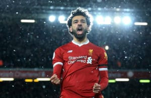 Mohamed-Salah, attaquant Liverpool