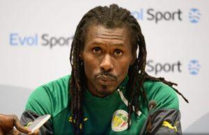 Aliou Cissé, sélectionneur du Sénégal