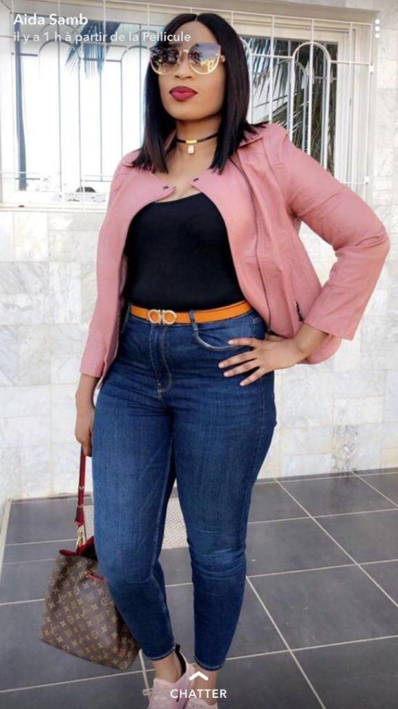 Photos: Aida Samb montre ses formes généreuse et fait le buzz