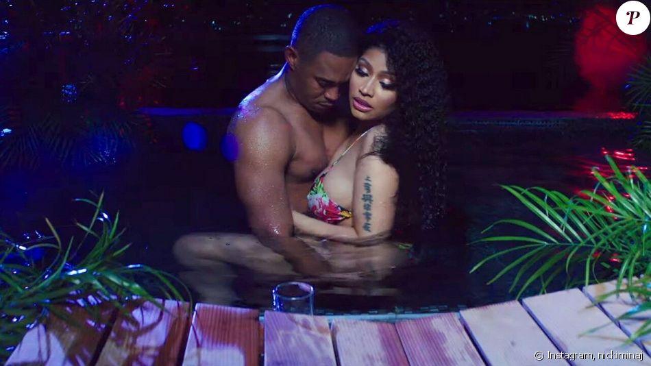 Nicki Minaj se donne beaucoup de mal pour promouvoir sa composition