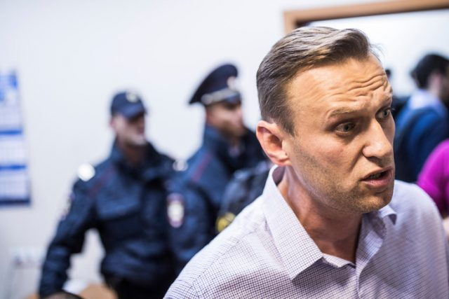 Leader Lopposition Russe Alexei Navalny 29 Septembre 2017 0 729 486
