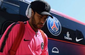 Neymar Lors D Un Deplacement Du Psg Cette Saison 258295