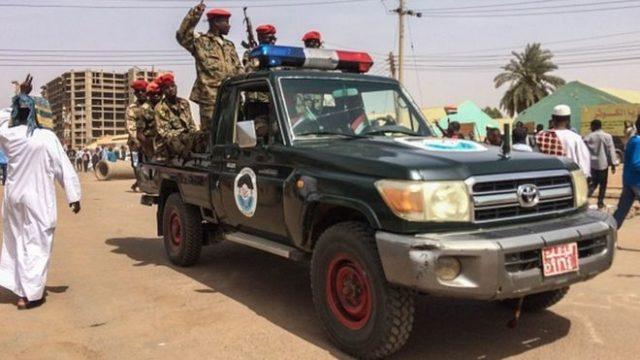 Officiers Soudanais Arrêtés