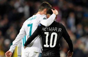 20180214 The18 Image Cristiano Ronaldo Vs Neymar Stats 2018 Champions League 770x433