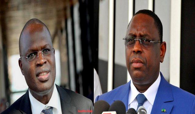 Bataille Des Législatives Et De La Présidentielle Macky Et Khalifa Officialisent La Sall Guerre