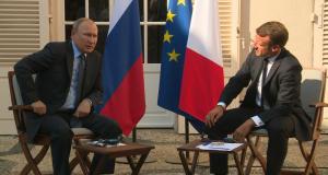 Poutine,Macron