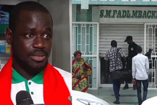 Serigne Fadilou Mbacké Dr Cheikhouna Gaye Commissaire Sankharé Parcelles Assainies Dakar Sénégal