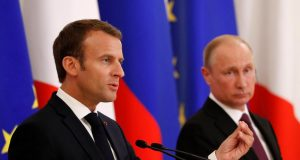 Russia France Putin Macron 0