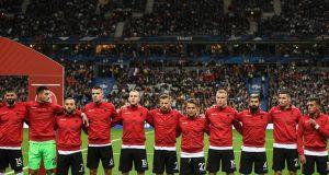 7798299926 L Equipe De France Attend Son Hymne Lors De Sa Rencontre Avec L Albanie Le 7 Septembre 2019 Pour Les Qualifications De L Euro 2020