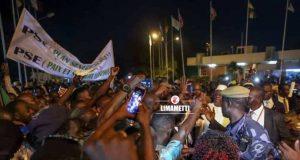 Arrivée De Macky Sall À Ouagadougou Sommet Cedeao 5