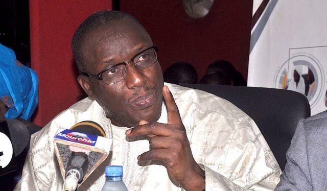 Cheikh Oumar Hanne Ministre 1