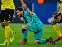L Attaquant FC Barcelone Lionel Messidu Match 0 0 Dortmund 1re Journee Ligue Champions 17 Septembre 2019 0 730 488