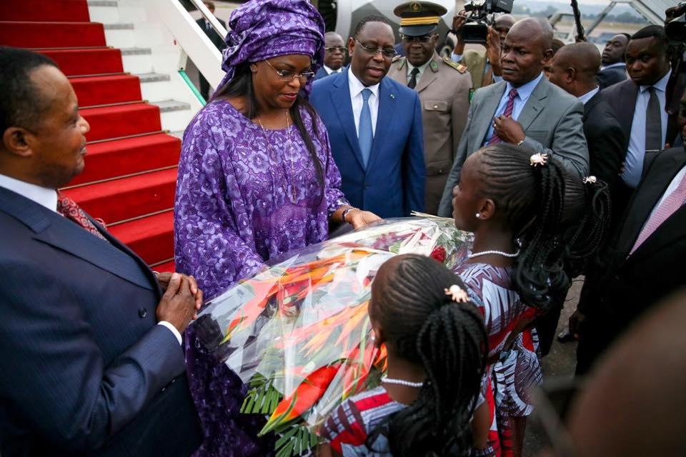 President Macky Sall Et La Première Dame 11