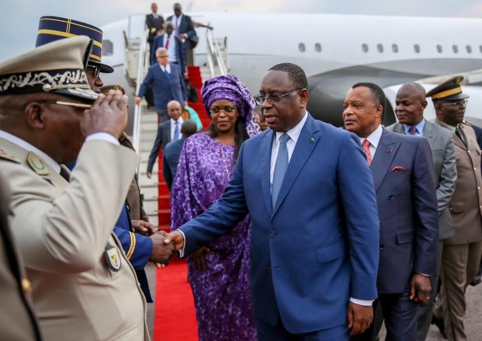 President Macky Sall Et La Première Dame 7