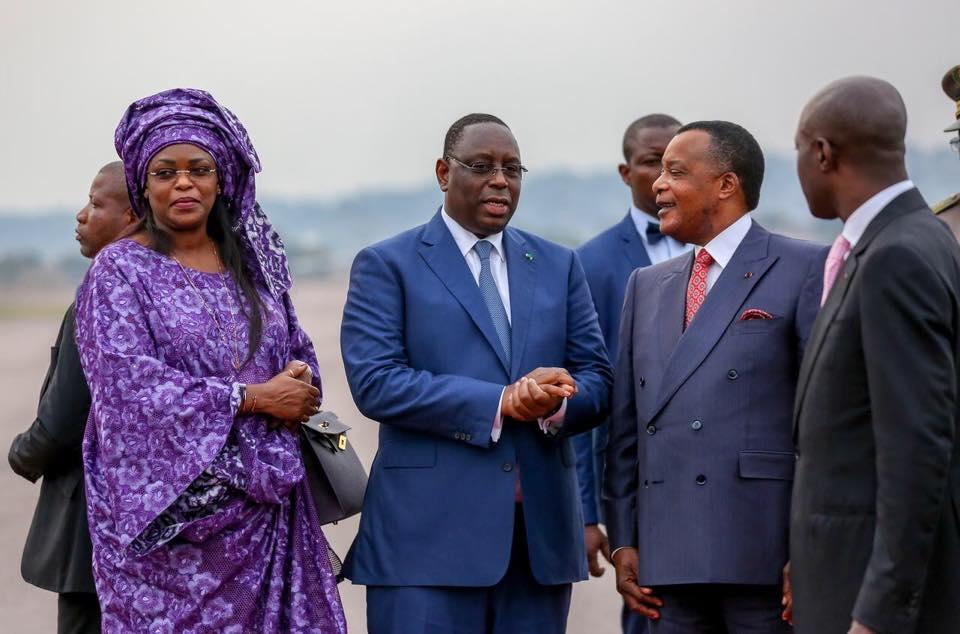 President Macky Sall Et La Première Dame 9