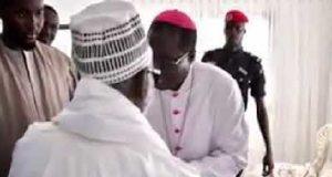 Serigne Mountakha Mbacké Et Monseigneur Benjamin Ndiaye