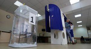 Bureau De Vote A Moscou 0