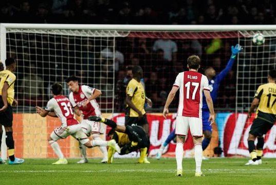 Direct Ligue Des Champions Lille Coule Face L Ajax Amsterdam