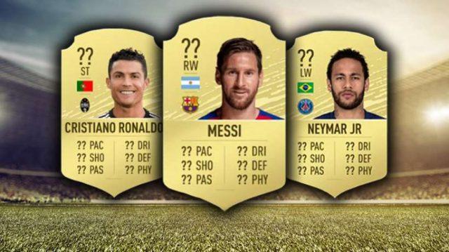 Lionel Messi Cristiano Ronaldo Et Neymar Sont Les Trois Joueurs Les Mieux Notes De Fifa 20 263057