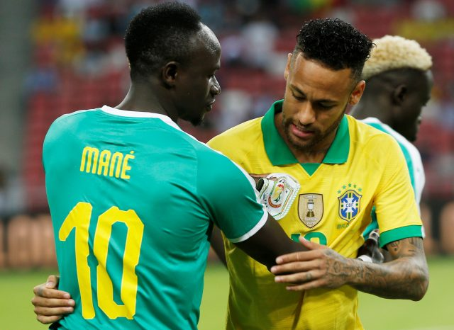 International Friendly Brazil V Senegal
