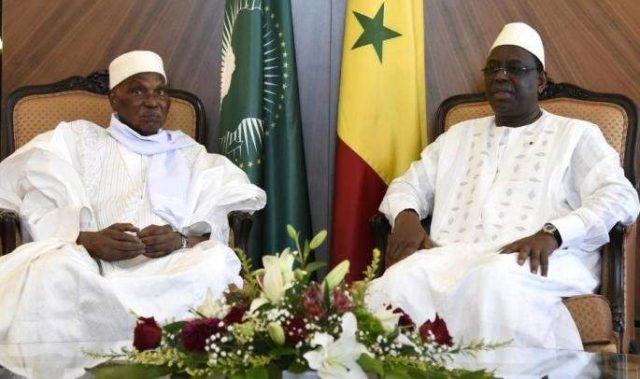 Abdoulaye Wade Et Macky Sall