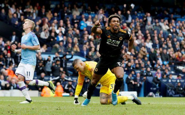 Premier League Manchester City V Wolverhampton Wanderers