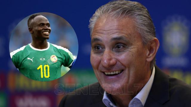 Tite, le sélectionneur du Brésil: « Sadio Mané est le troisième meilleur joueur au monde, il est... »