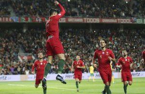 Ronaldo Golo Lituania
