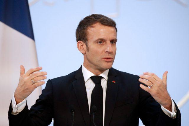 Coronavirus,Macron