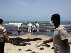 les côtes libyennes