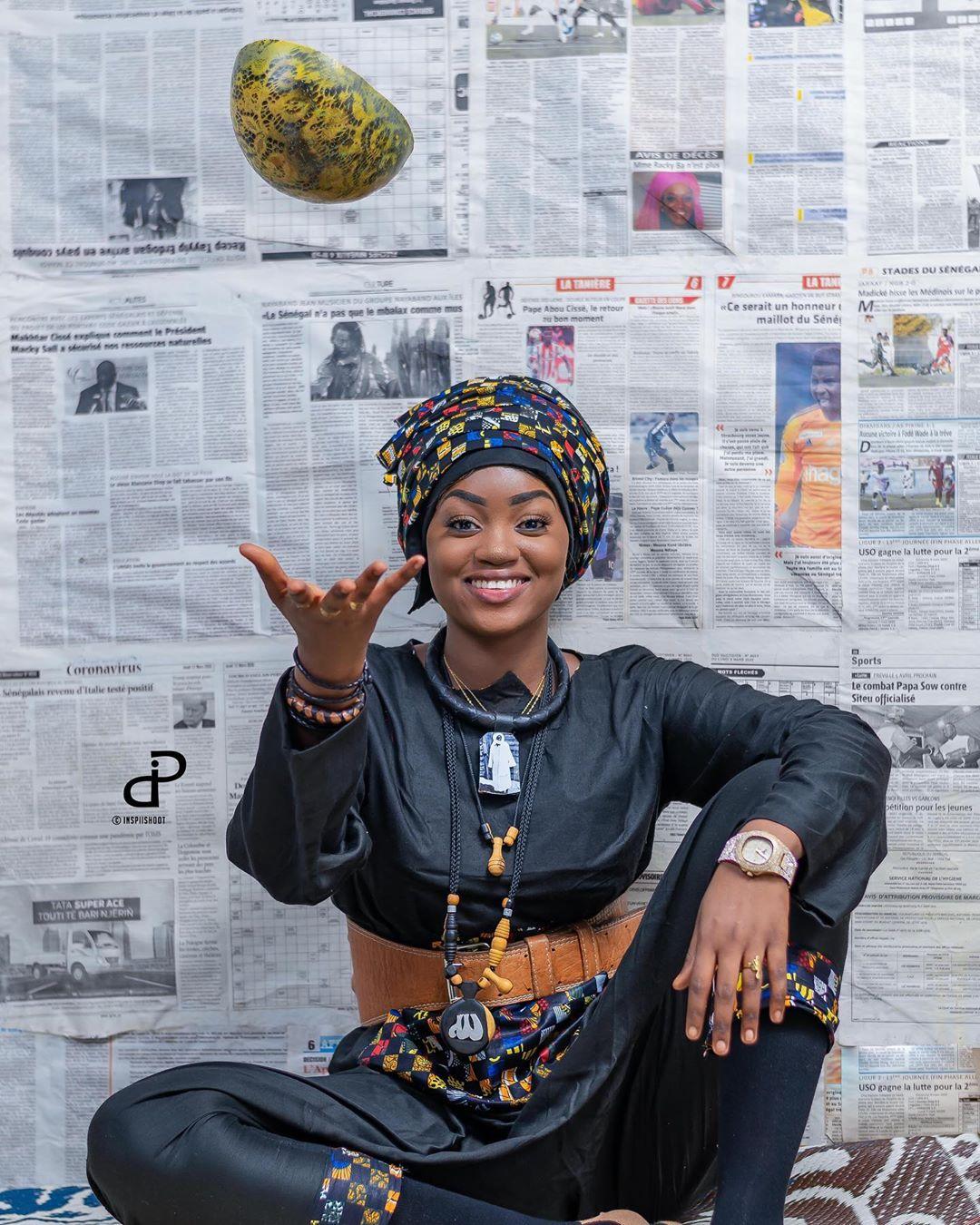 (07 Photos) Diarra Thiès Sen Petit Gallé s'affiche toute rayonnante en mode Yaye Fall