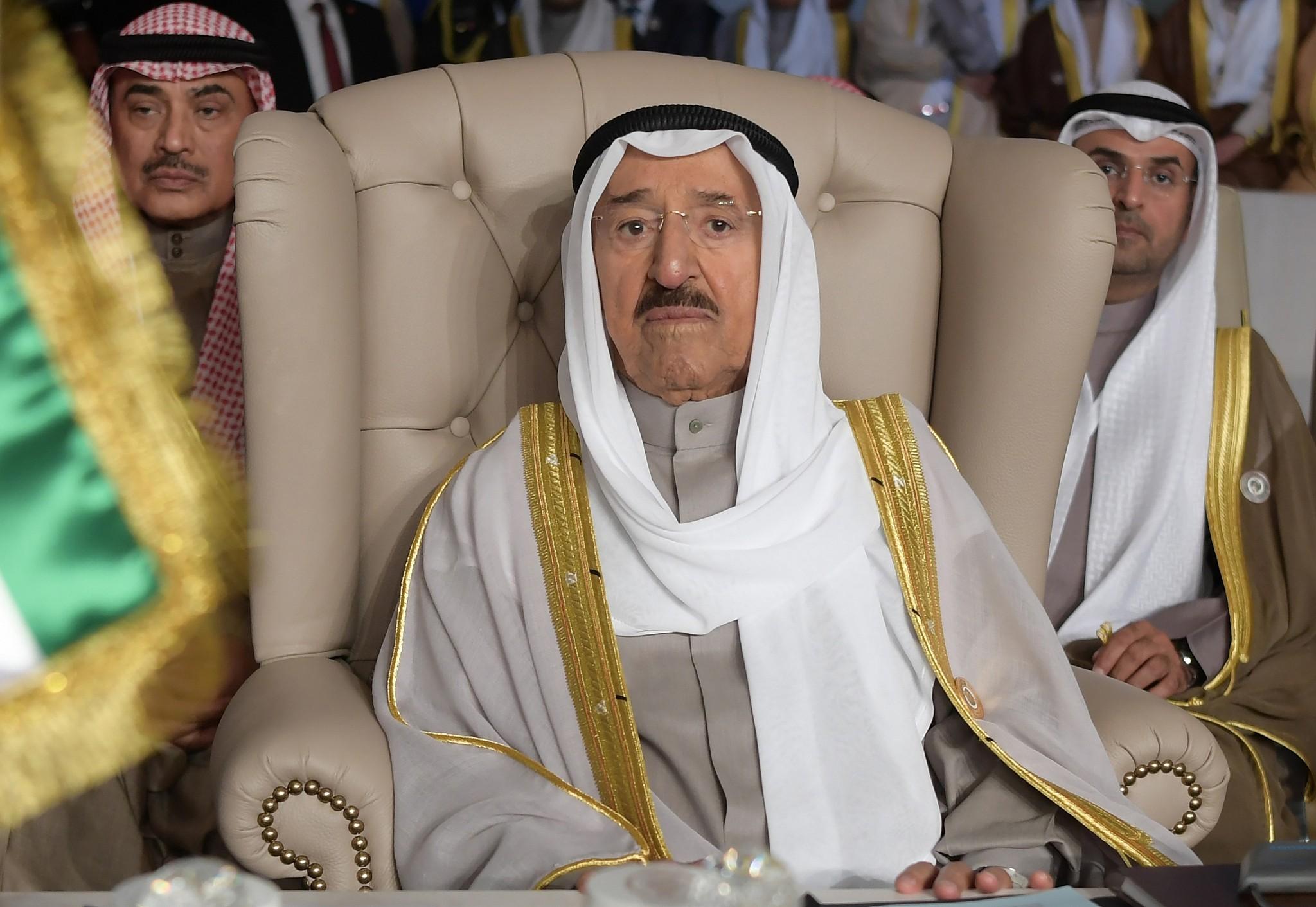 Décès de l'émir Sabah al-Ahmed al-Jabir — Koweït