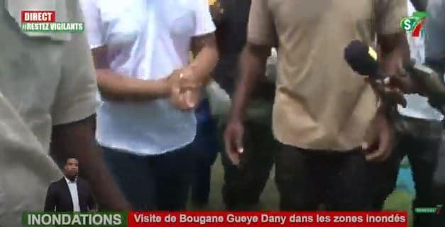 Keur Massar : Bougane Guèye apporte son soutien aux sinistrés des inondations