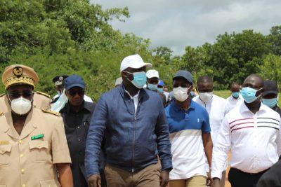 Aménagement du territoire: Abdou Karim Fofana en visite de travail à Sédhiou
