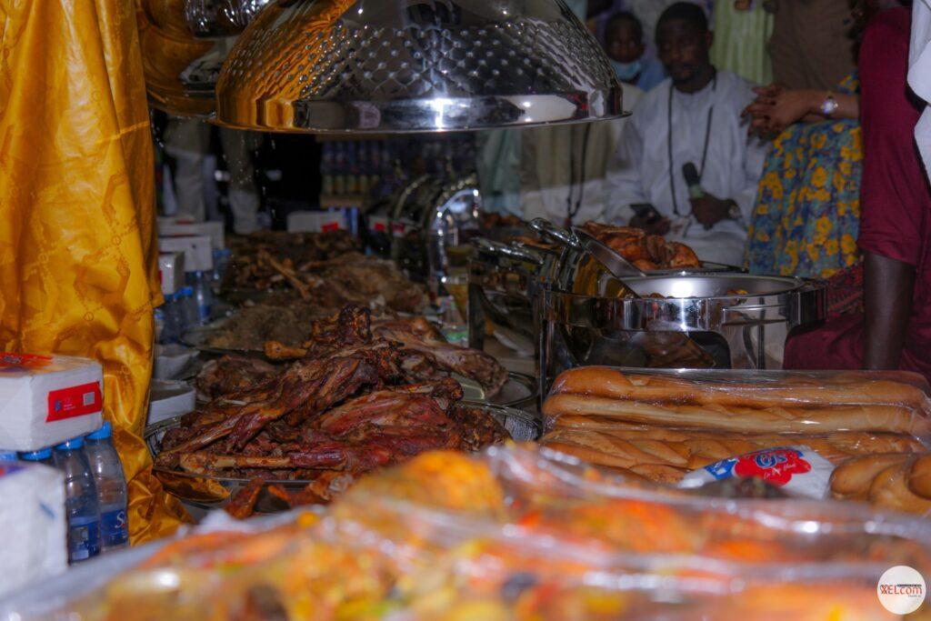 Magal : L'incroyable « dîner berné » de Sokhna Aïda Diallo (Photos)