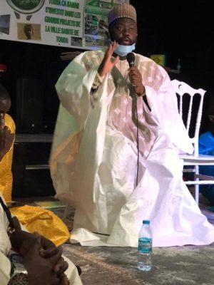 Photos - Berlin: Les Talibés mourides choississent un petit fils de Baye Niass pour célébrer le Magal 2020