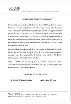 Affaire Macky Sall, Youssou Ndour et l'audit de la Sodav: Ngoné Ndour apporte un démenti