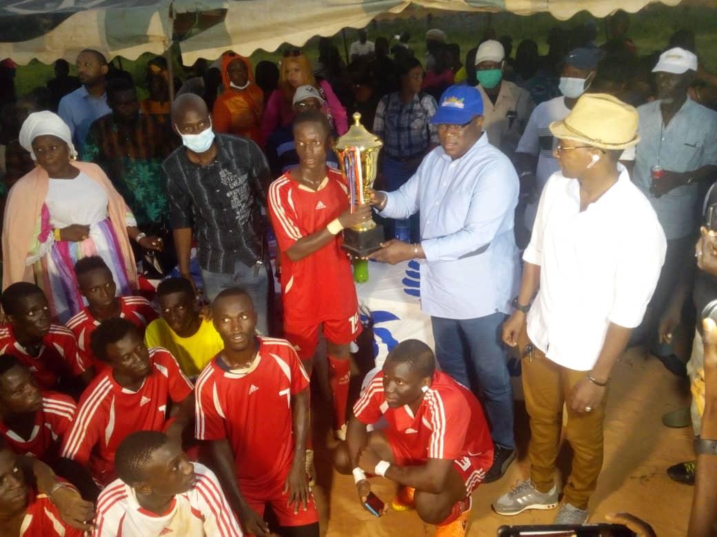 Abdoulaye Baldé : «le sport est un facteur de raffermissement des liens de fraternité et de consolidation de la paix...»