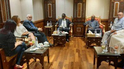 Le Ministre des affaires étrangères reçu par Son Altesse Cheikh Nawaf Al-Ahmad AL Jaber AL-SABAH
