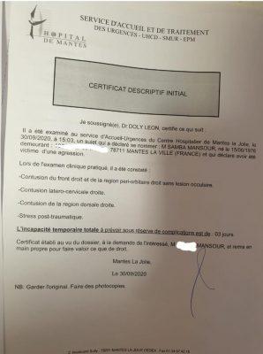 Agression au consulat du Sénégal à Paris: Le MAESE ouvre une enquête