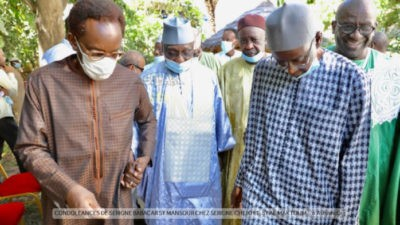 Photos - Fann Résidence - Serigne Babacar Sy Mansour chez Serigne Cheikh Tidiane Sy Al Maktoum.