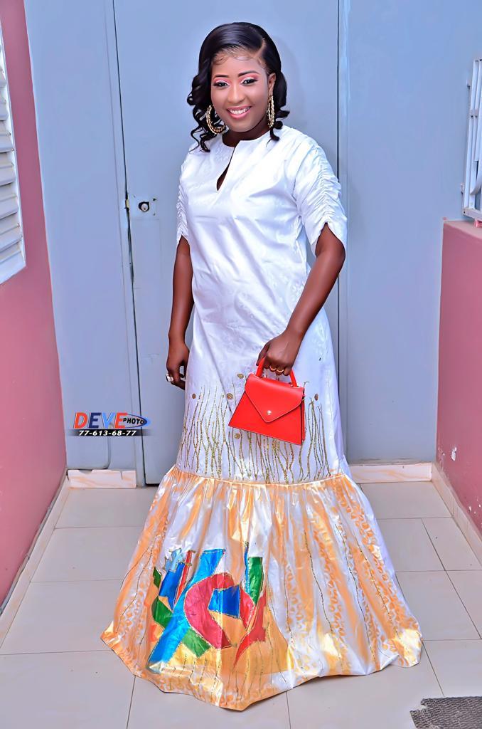 (Photo) Baptême du Fils de Deureum Gadio: Admirez le Sagnsé de Ndeye Ndiaye