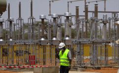 Sen'eau: Travaux de raccordement de la nouvelle ligne électrique haute tension aux usines de Keur Momar Sarr