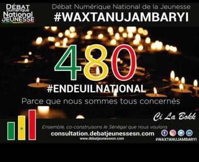A la place de l'Etat, les internautes organisent une journée de deuil national, ce vendredi, 20h