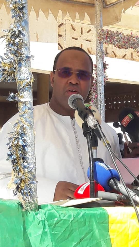 Images: Inauguration d'un bureau de poste par l'honorable député maire des agnam Farba Ngom