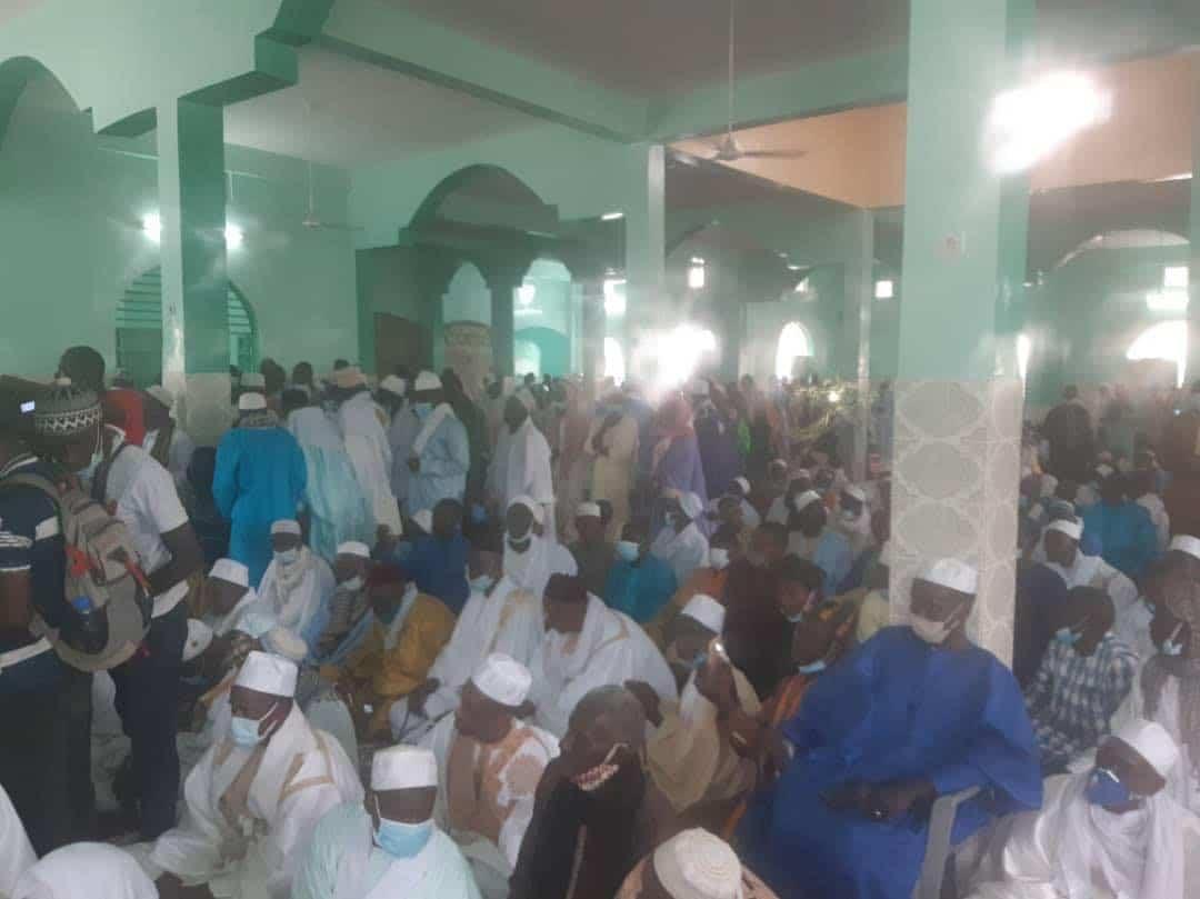 Mame Boye Diao à l'inauguration de la grande mosquée de Médina El Hadji : «Nous ne faisons que suivre la voie tracée par le Président Sall»