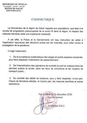 """Respect des mesures barrières : Le Gouverneur de Dakar """"arme"""" les forces de l'ordre"""