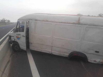 Urgent : Un car Ndiaga Ndiaye se renverse sur l'autoroute Ila Touba