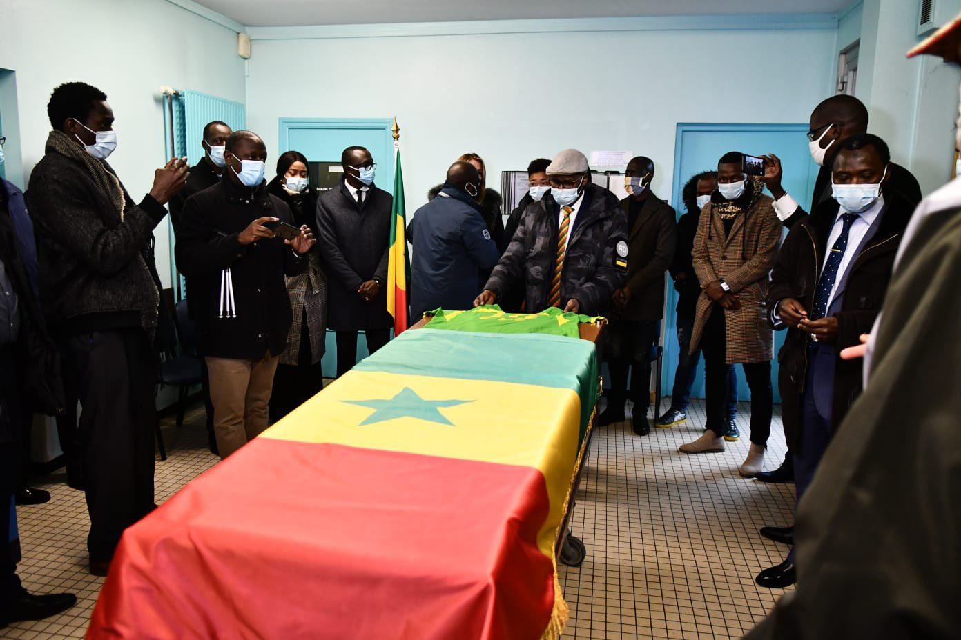 (Photos - Vidéo) Lens : Levée du corps de Papa Bouba Diop
