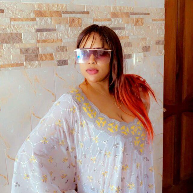 (Photos) La charmante Guigui dévoile toute sa classe en mode diongoma 2.0